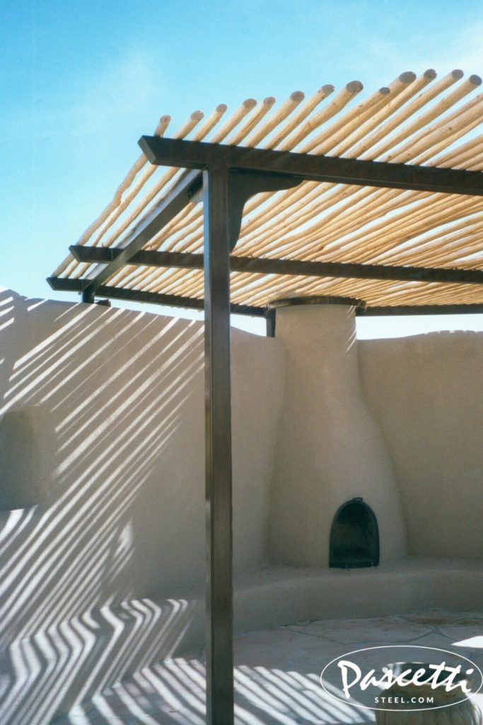 Residential Shade Structure Pascetti Steel Design Inc