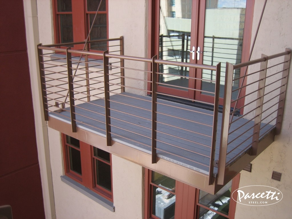 Balcony Systems Banque Lofts Abq Pascetti Steel Design Inc