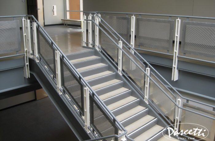 Perforated Panel Railings Pascetti Steel Design Inc