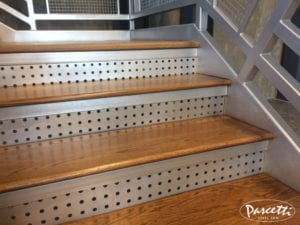Commercial Stair System Wagon Self Storage Pascetti