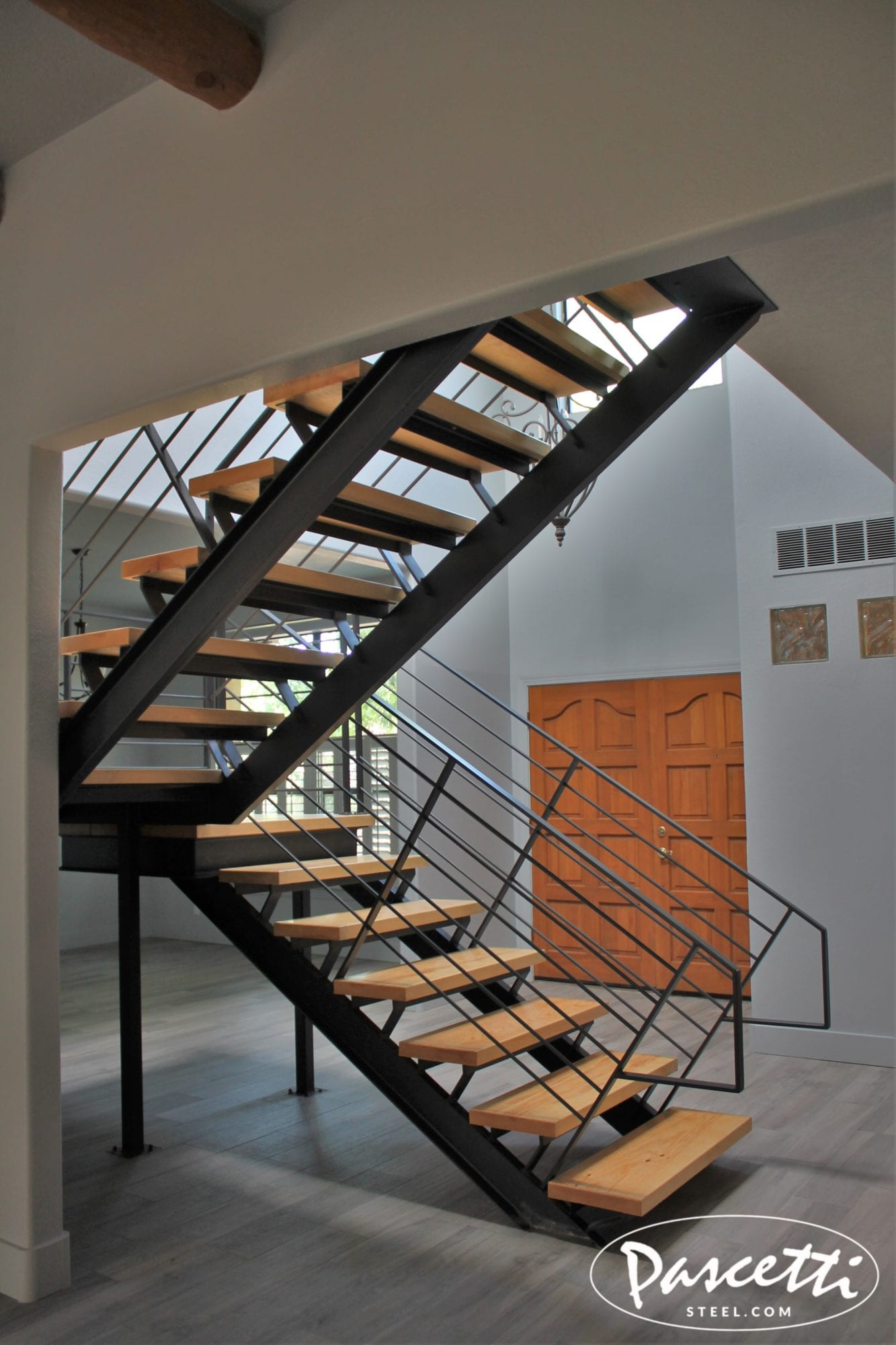 Solid Railings For Stairs