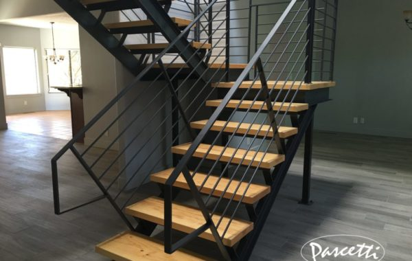 Self Supporting Steel Stair System
