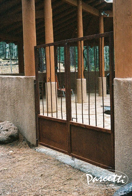 Natural Rust Finish Gates Stairs Amp Rails Pascetti