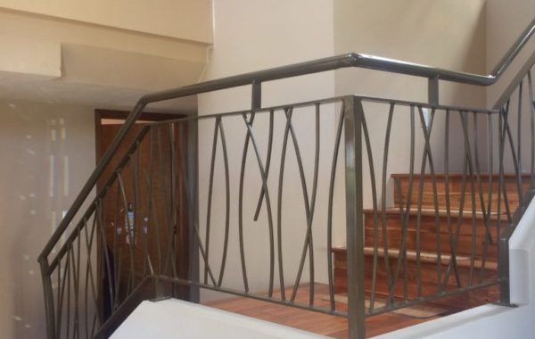 Large Stair and Balcony Rail System