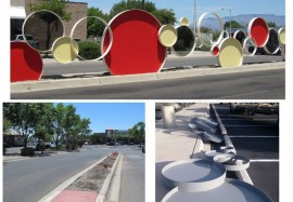 Pascetti Steel Design Completes Custom Sculpture Installation at Carlisle Circle Center