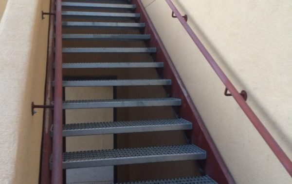 NMSU Stair and Railing System