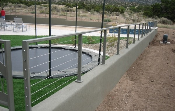 Residential cable railings pascetti steel design inc