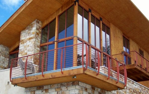 Angel Fire Ski Resort Balcony Systems