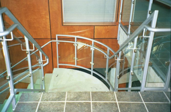 Commercial Glass Railing System