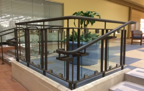 Mesilla Valley Mall Glass Railings