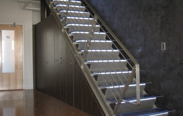 Commercial Stair and Railing System