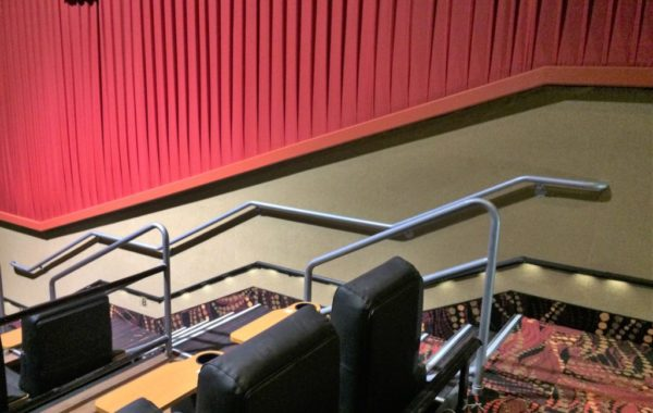 Regal Movie Theater Steel Stair Railings