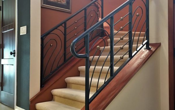 Musical Clef Inspired Railings