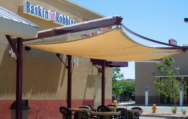 Dunkin Donuts Canopy Structure