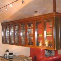 Custom Kitchen Hood and Cabinet