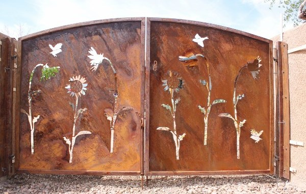 Decorative Mural Cut Out Gates