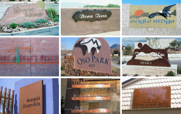 Comercial Signage Gallery