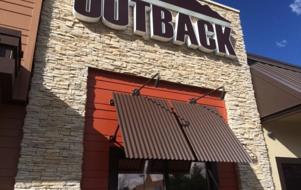 Outback Steakhouse Canopy Frames