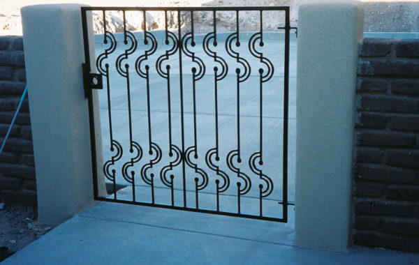 Gates with Matching Privacy Panels