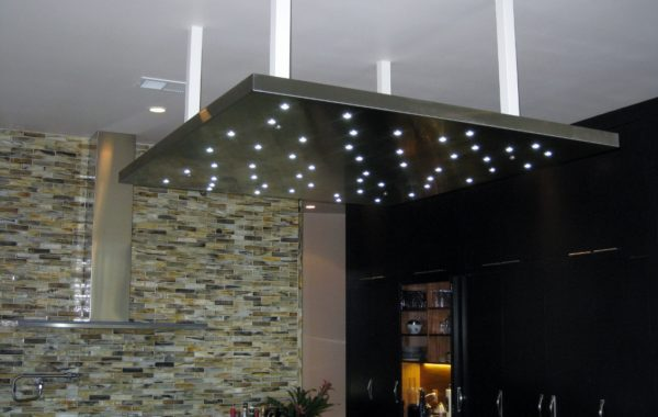 Aluminum Panel Kitchen Lighting
