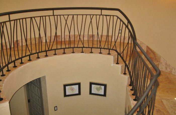Powder Coated Railing System