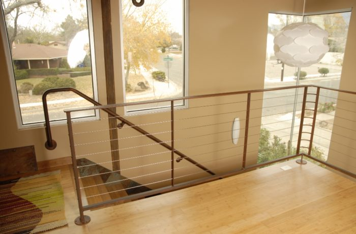 Interior Stair and Loft Cable Railing