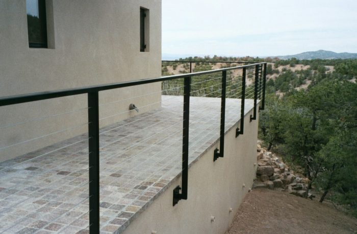 Exterior Balcony Cable Railing