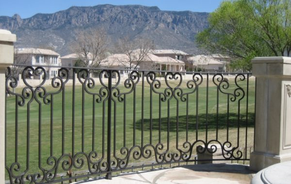 Custom Residential Steel Railing