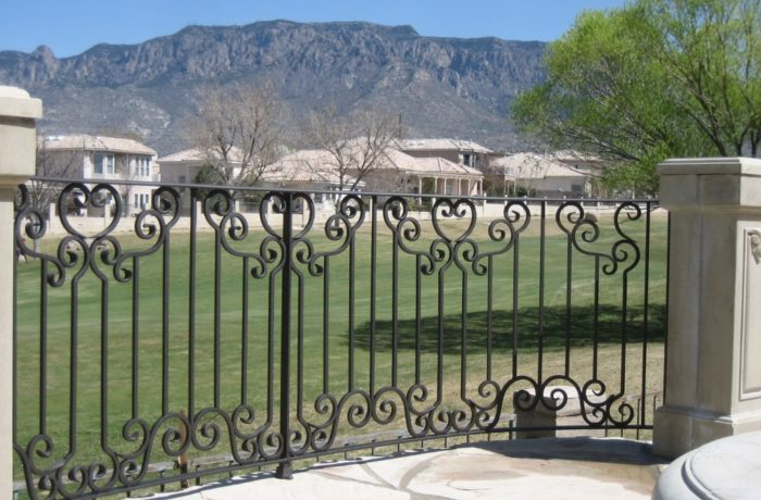 Decorative Forged Railing
