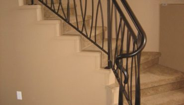 Long Grass Infill Stair Railing