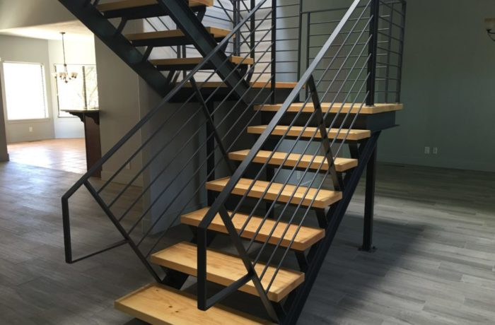 Self-Supporting Steel Stair System