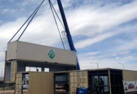 Introducing the First Steel Shipping Container Structure in Albuquerque