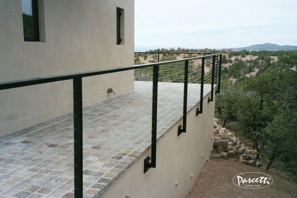 Balcony Cable Railings | Pascetti Steel Design, Inc.