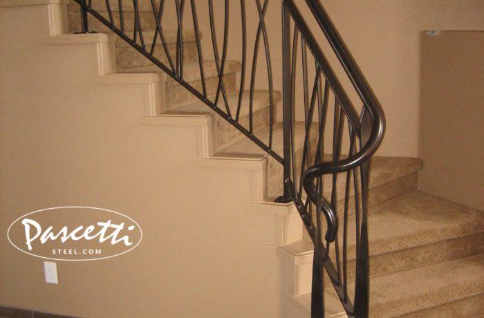 Custom Design Railing - Long Grass | Pascetti Steel Design ...