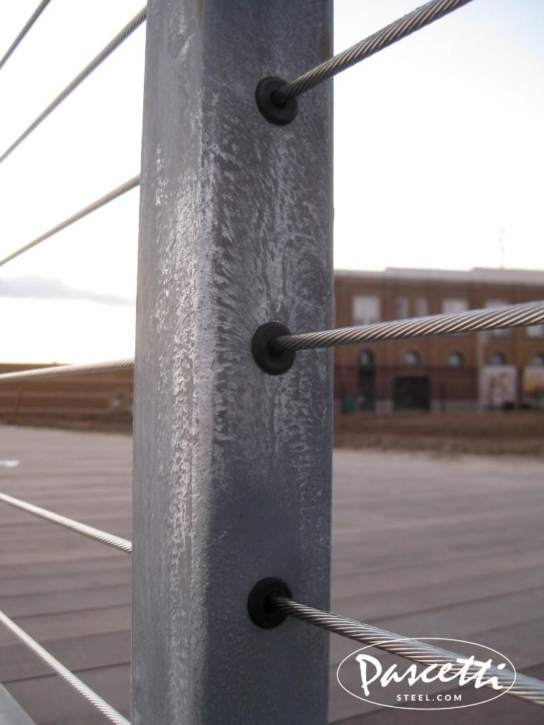 Galvanized Cable Railing Pascetti Steel Design Inc