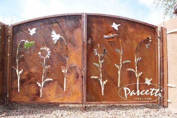 Decorative Steel Gates Pascetti Steel Design Inc