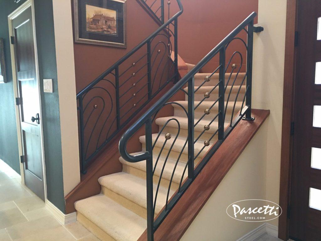 Custom Residential Railings Pascetti Steel Design Inc
