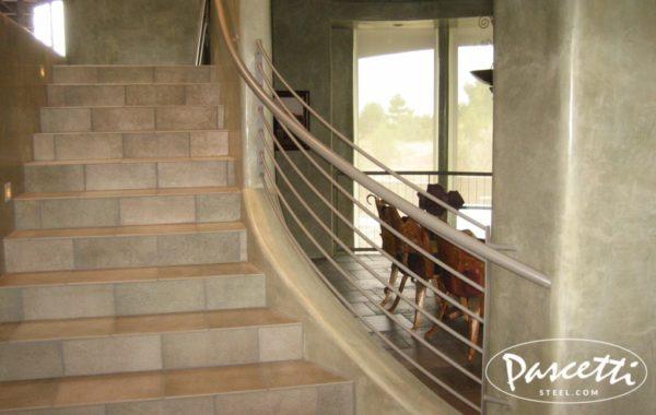 Custom Residential Railings | Pascetti Steel Design, Inc