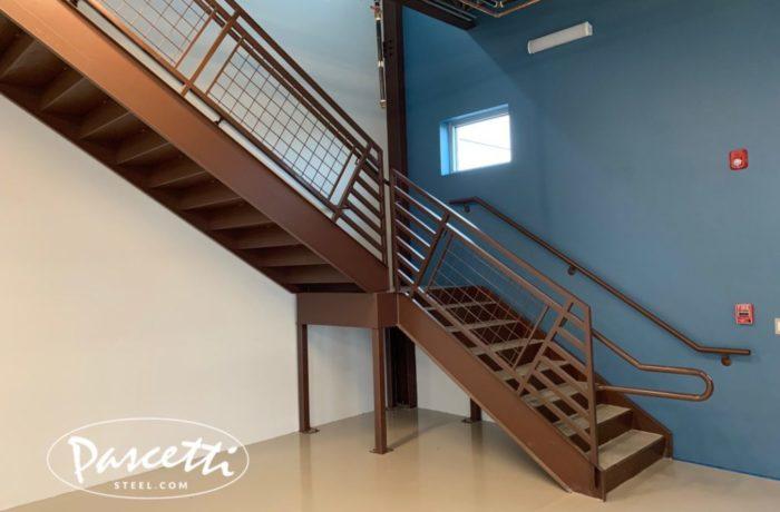 Ada Compliant Tread Stair System Pascetti Steel Design Inc